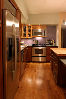 The kitchen work triangle maximizes space in your kitchen - Kitchen triangle design with island ...