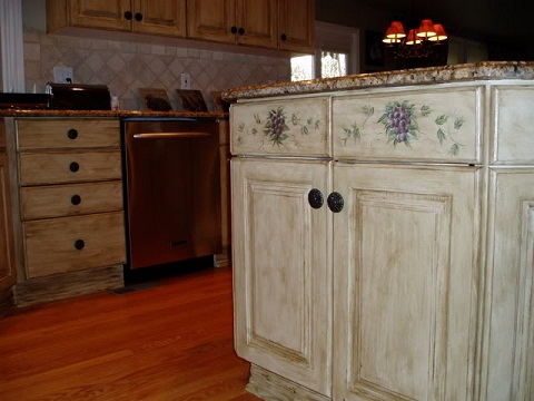 Kitchen Cabinet Painting Ideas Are Faux Painting Kitchen Cabinets