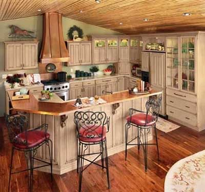 Glazed kitchen cabinets diy antique painting kitchen cabinets - Painted kitchen cabinets ideas ...